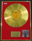 NEIL YOUNG - LP 24 Carat Gold Disc - AFTER THE GOLDRUSH